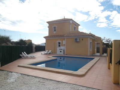 1243: Villa in Mazarron Country Club