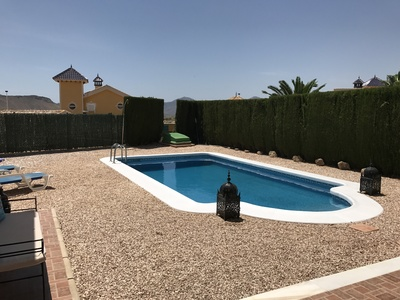 1244: Villa for sale in Mazarron Country Club