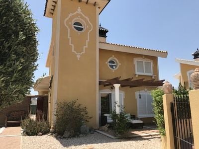 1244: Villa in Mazarron Country Club