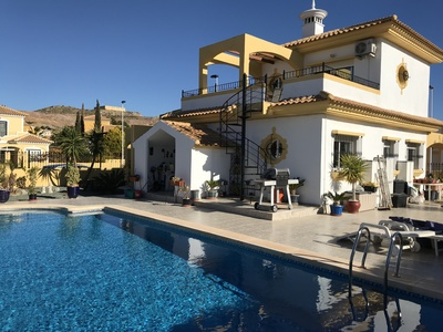 1251: Villa for sale in Mazarron