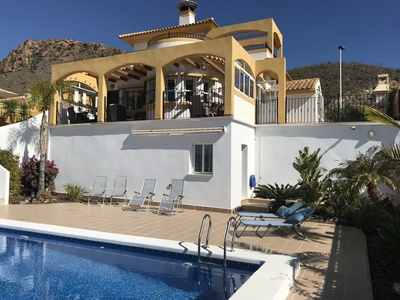 1317: Villa for sale in Mazarron