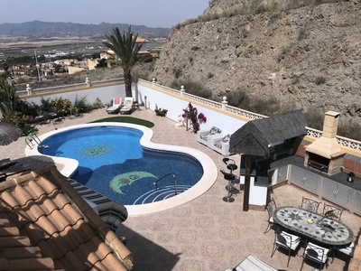 1323: Villa for sale in Mazarron