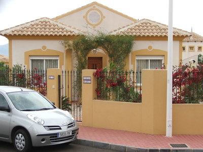 1114: Villa in Mazarron Country Club