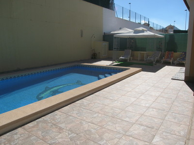 1201: Villa for sale in Mazarron Country Club