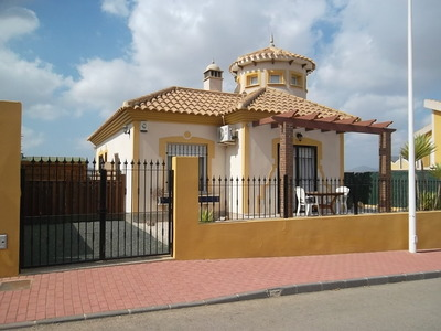 1206: Villa in Mazarron Country Club
