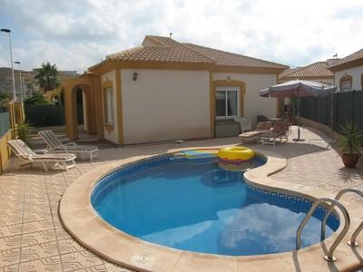 1203: Villa for sale in Mazarron Country Club