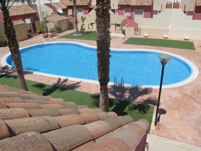 1124: Terraced House for sale in Camposol
