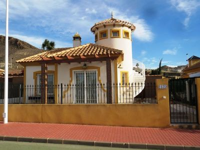 1087: Villa in Mazarron Country Club