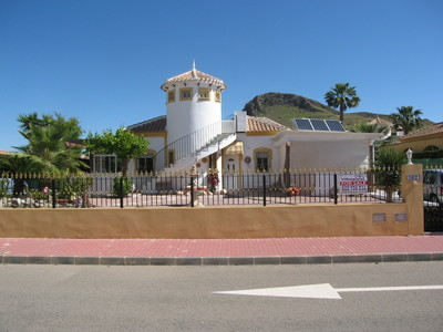 1191: Villa for sale in Mazarron
